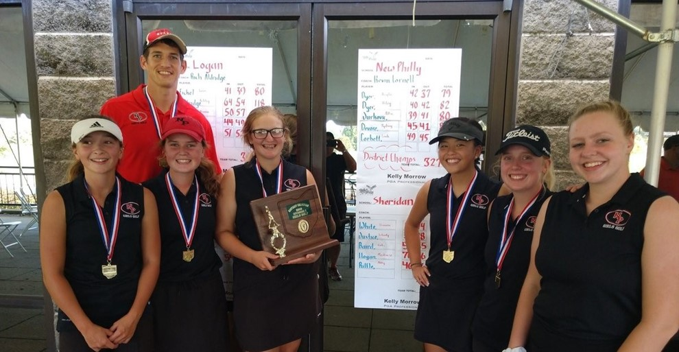 District Champion Golf Team